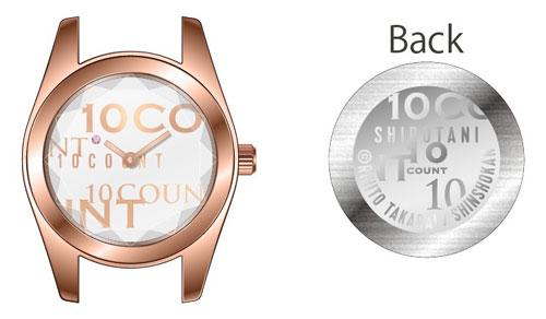 テンカウント 腕時計 城谷モデル