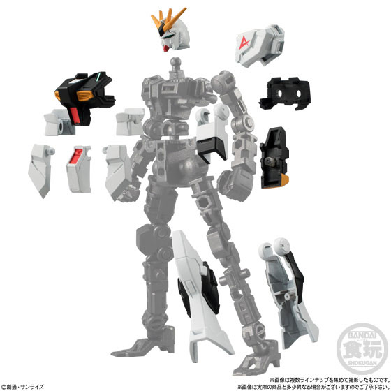 Mobile Suit Gundam G Frame 10Pack BOX (CANDY TOY)(Pre-order)機動戦士ガンダム Gフレーム 10個入りBOX(食玩)Accessory