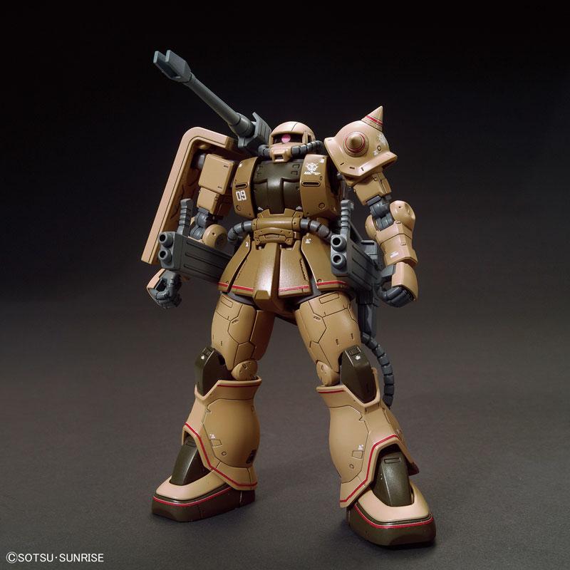 HG 1/144 ザク・ハーフキャノン 『機動戦士ガンダムTHE ORIGIN MSD』より プラモデル