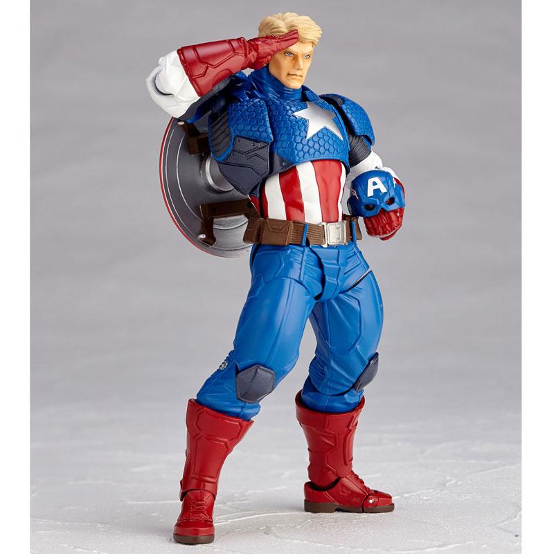 Figure Complex - Amazing Yamaguchi No.007 Captain America(Pre-order)フィギュアコンプレックス アメイジング・ヤマグチ No.007 Captain America (キャプテン・アメリカ)Scale Figure
