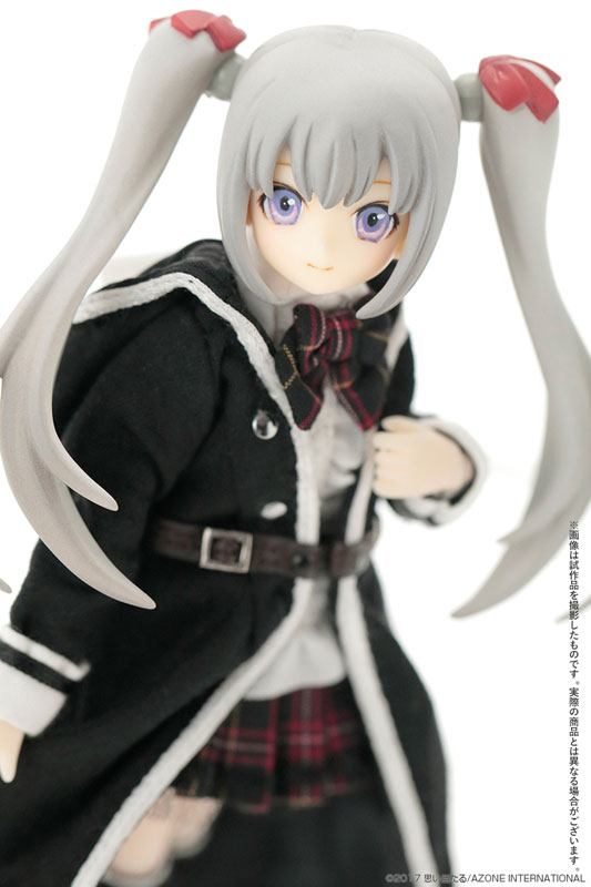 1/12 Luluna / Black Raven -The gale of the scythe. The Beginning of the End- Misty Silver Complete Doll(Pre-order)1/12 ルルナ / ブラックレイヴン ~The gale of the scythe. 終わりの始まり~ ミスティシルバー 完成品ドールScale Figure