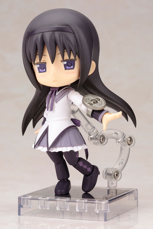 Cu-poche - Puella Magi Madoka Magica the Movie: Homura Akemi ver.1.5 Posable Figure(Pre-order)キューポッシュ 劇場版 魔法少女まどか☆マギカ 暁美ほむら ver.1.5 可動フィギュアNendoroid