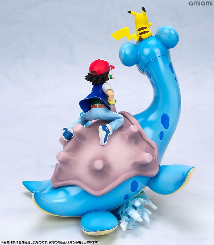 G.E.M. Series - Pokemon: Ash & Pikachu & Lapras Complete Figure(Pre-order)G.E.M.シリーズ ポケットモンスター サトシ&ピカチュウ&ラプラス 完成品フィギュアScale Figure