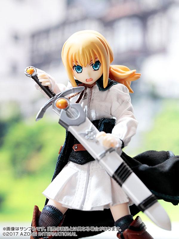 1/12 Sheila - Black Raven -Gladewood city. Onnakenshi no Seigi to Kokoroe- Complete Doll(Pre-order)1/12 シェイラ BlackRaven~Gladewood city.女剣士の正義と心得~ 完成品ドールScale Figure