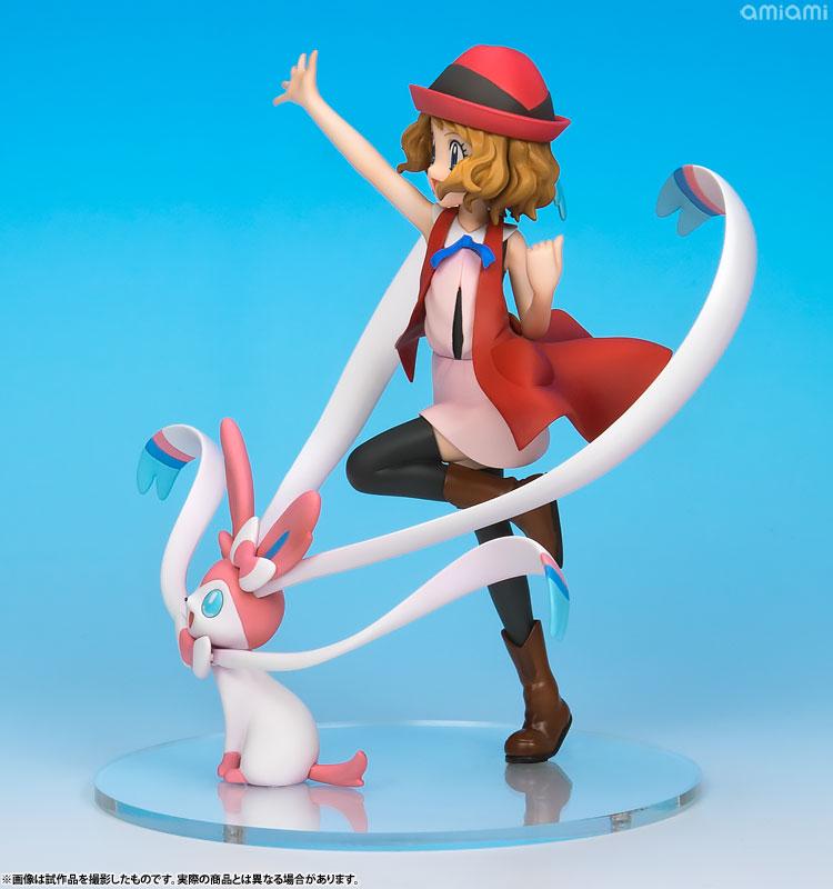[Exclusive Sale][Bonus] G.E.M. Series - Pokemon: Serena & Sylveon Complete Figure(Pre-order)【限定販売】【特典】G.E.M.シリーズ ポケットモンスター セレナ&ニンフィア 完成品フィギュアScale Figure