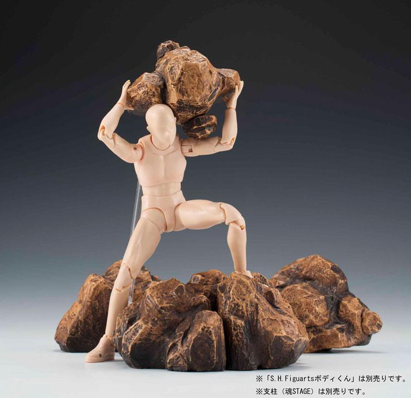 Tamashii EFFECT - ROCK Beige Ver.(Pre-order)魂EFFECT ROCK Beige Ver.Scale Figure