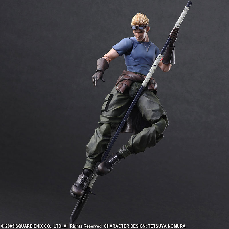 Play Arts Kai - FINAL FANTASY VII ADVENT CHILDREN: Cid Highwing & Cait Sith(Pre-order)プレイアーツ改 FINAL FANTASY VII ADVENT CHILDREN シド・ハイウインド&ケット・シーScale Figure