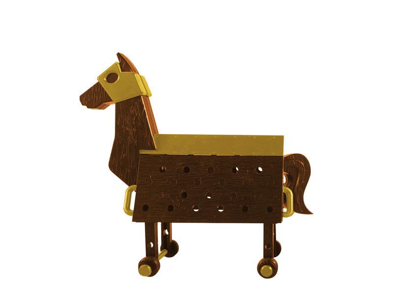 Love Toys Vol.3 Sankaku Mokuba Wooden horse 1/12 Unpainted Assembly Kit(Pre-order)Love Toys Vol.3 三角木馬 Wooden horse 1/12 未塗装 未組み立てキットScale Figure