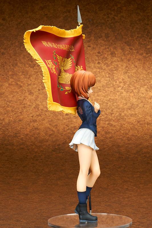 Girls und Panzer the Movie - Miho Nishizumi Senshado Zenkoku Koukousei Taikai Winning Flag Ver. 1/7 Complete Figure(Pre-order)ガールズ&パンツァー 劇場版 西住みほ 戦車道全国高校生大会 優勝旗Ver. 1/7 完成品フィギュアScale Figure