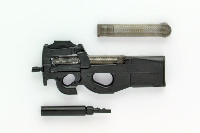LittleArmory [LA039] P90 Type 1/12 Plastic Model(Pre-order)リトルアーモリー [LA039] P90タイプ 1/12 プラモデルScale Figure