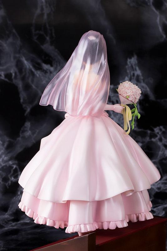 Date A Live - Kurumi Tokisaki Wedding ver. Pink 1/7 Complete Figure(Pre-order)デート・ア・ライブ 時崎狂三 ウェディングver ピンク 1/7 完成品フィギュアScale Figure