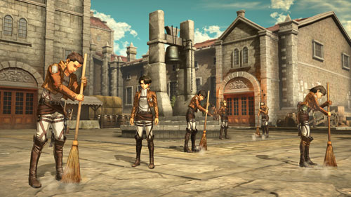 [Bonus] PS4 Attack on Titan 2 Regular Edition(Pre-order)【特典】PS4 進撃の巨人2 通常版Accessory