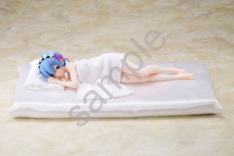 Re:ZERO -Starting Life in Another World- Rem Sleep Sharing Ver. 1/7 Complete Figure(Pre-order)Re:ゼロから始める異世界生活 レム添い寝Ver. 1/7 完成品フィギュアScale Figure