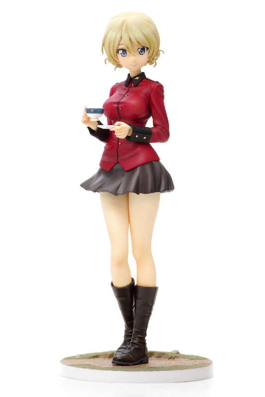 DreamTech - Girls und Panzer the Movie: Darjeeling Panzer Jacket Ver. 1/8 Complete Figure(Pre-order)ドリームテック ガールズ&パンツァー 劇場版 ダージリン パンツァージャケットVer. 1/8 完成品フィギュアScale Figure