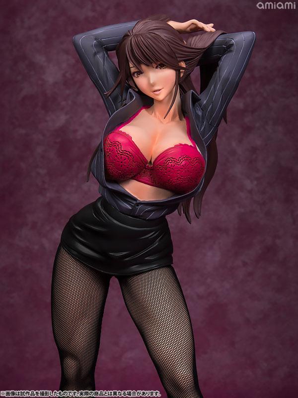Hataraku Onna no Ureta Ase - Otome Kurosawa 1/6 Complete Figure(Pre-order)働くオンナの熟れた汗 黒沢乙女 1/6 完成品フィギュアScale Figure