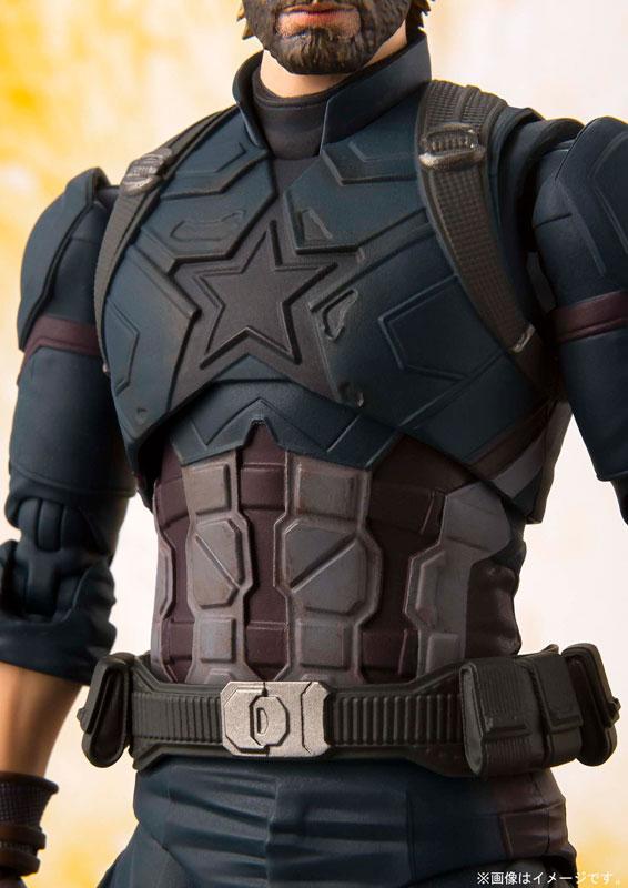 S.H. Figuarts - Captain America (Avengers: Infinity War)(Pre-order)S.H.フィギュアーツ キャプテン・アメリカ (アベンジャーズ/インフィニティ・ウォー)Scale Figure