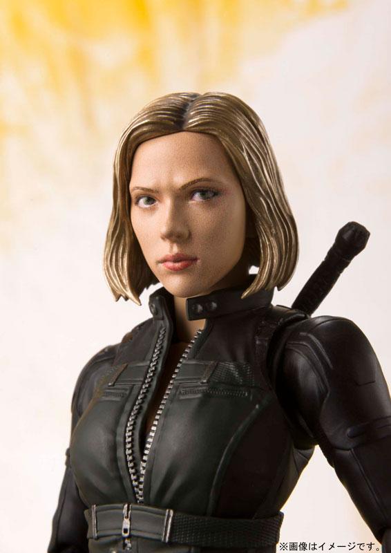 S.H. Figuarts - Black Widow (Avengers: Infinity War)(Pre-order)S.H.フィギュアーツ ブラック・ウィドウ (アベンジャーズ/インフィニティ・ウォー)Scale Figure