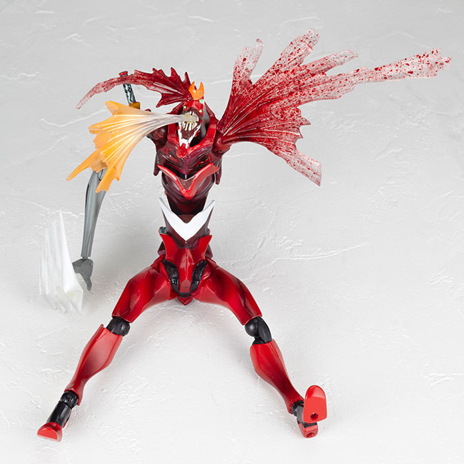 Revoltech EVANGELION EVOLUTION EVA-02 Beast Mode 2nd Form