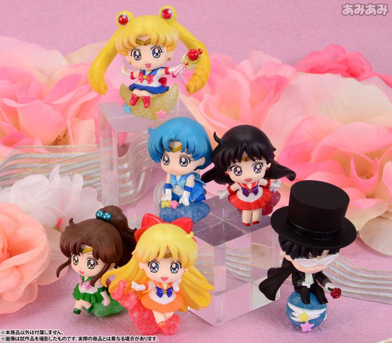 Petit Chara Land - Sailor Moon: Candy de Make Up! 6Pack BOX(Pre-order)ぷちきゃらランド 美少女戦士セーラームーン キャンディでメイクアップ! 6個入りBOXAccessory