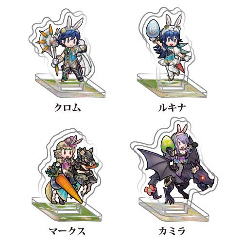 empty Fire Emblem Heroes Mini Acrylic Figure Collection vol.10 10Pack BOX