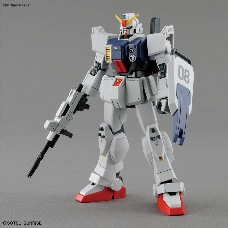 HGUC 1/144 Gundam Ground Type Plastic Model from