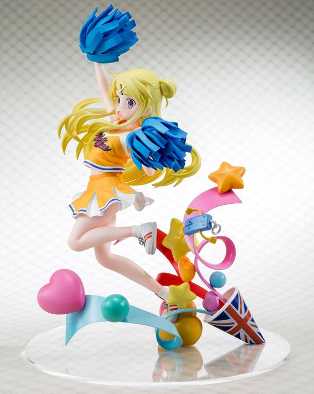 Kiniro Mosaic Pretty Days - Karen Kujo Poppun Cheer Girl ver. 1/7 Complete Figure(Pre-order)きんいろモザイク Pretty Days 九条カレン ぽっぷんチアガールver. 1/7 完成品フィギュアScale Figure