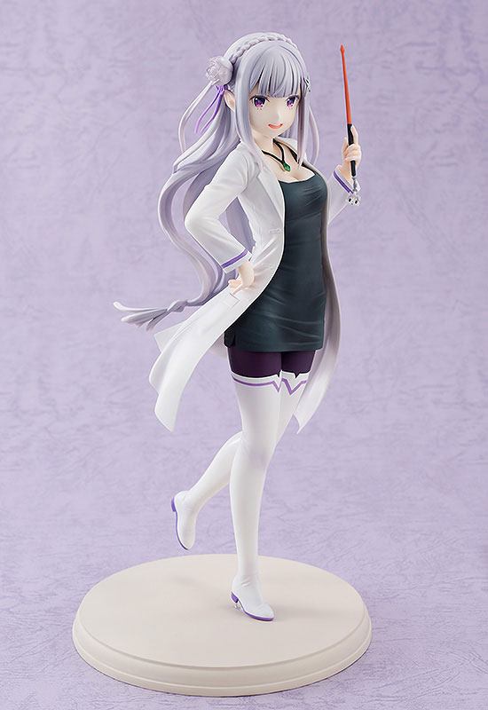Re:ZERO -Starting Life in Another World- Emilia High School Teacher Ver. 1/7 Complete Figure(Pre-order)Re:ゼロから始める異世界生活 エミリア 教師Ver. 1/7 完成品フィギュアScale Figure