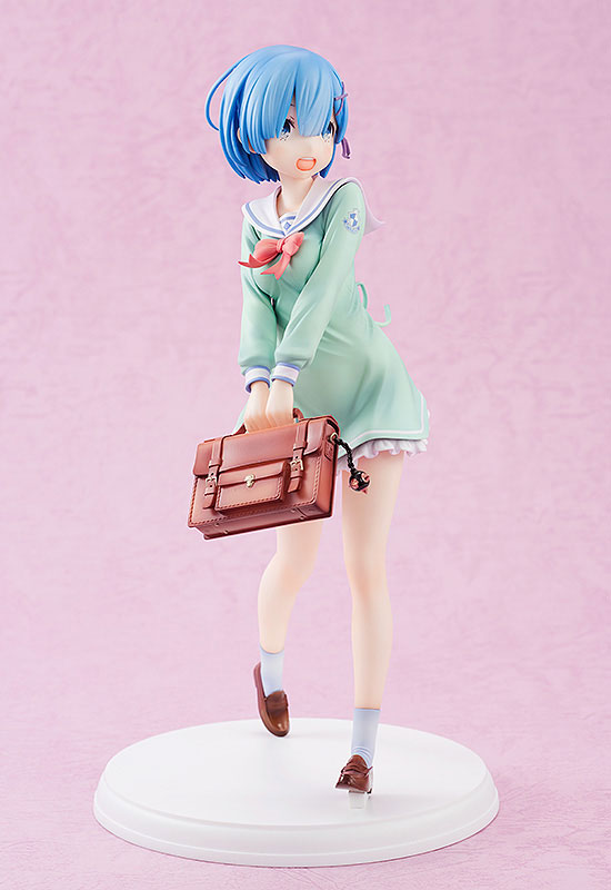 Re:ZERO -Starting Life in Another World- Rem High School Uniform Ver. 1/7 Complete Figure(Pre-order)Re:ゼロから始める異世界生活 レム 学生服Ver. 1/7 完成品フィギュアScale Figure