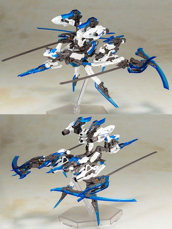 [Bonus] Frame Arms Girl - Hresvelgr=Ater Plastic Model(Released)【特典】フレームアームズ・ガール フレズヴェルク=アーテル プラモデルScale Figure