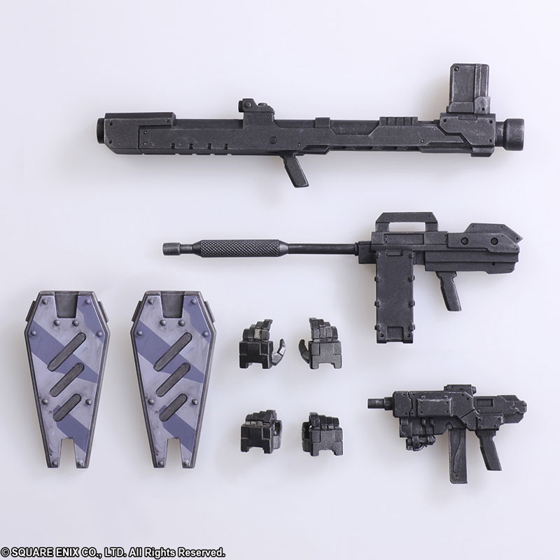 Front Mission The First - WANDER ARTS: Zenith City Camouflage Ver. Action Figure(Pre-order)フロントミッション ザ・ファースト ヴァンダーアーツ ゼニス 都市迷彩Ver アクションフィギュアScale Figure