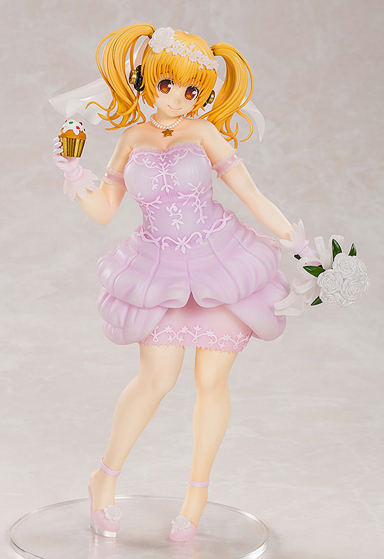 Super Pochaco Wedding Ver. 1/5 Complete Figure(Pre-order)すーぱーぽちゃ子 ウェディングVer. 1/5 完成品フィギュアScale Figure