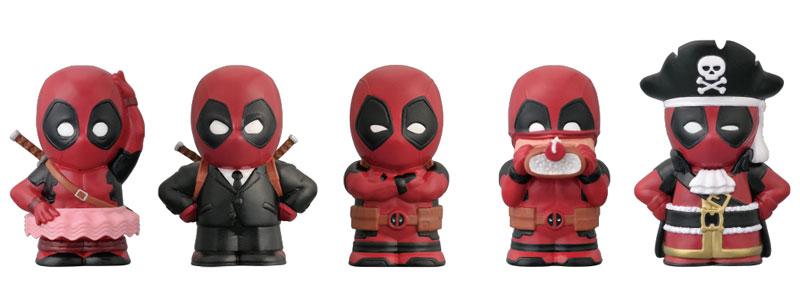 Deadpool - Soft Vinyl Puppet Mascot 10Pack BOX(Pre-order)デッドプール ソフビパペットマスコット 10個入りBOXAccessory