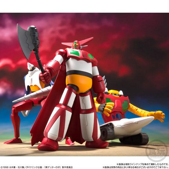 スーパーミニプラ 真(チェンジ!!)ゲッターロボ Vol.1 3個入りBOX (食玩)[バンダイ]