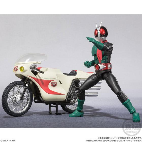 SHODO-X - Kamen Rider 1 10Pack BOX (CANDY TOY)(Pre-order)SHODO-X 仮面ライダー1 10個入りBOX (食玩)Accessory