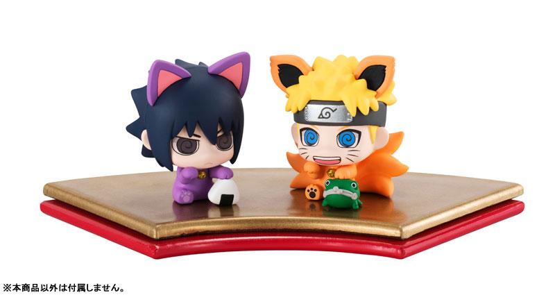 Petit Chara Land Maneki-Neko NARUTO Shippuden Maneki Kyubi Dattebayo! Set of 2 Mascot Figures(Pre-order)ぷちきゃらランド 招き猫 NARUTO-ナルト- 疾風伝 招き九尾だってばよ! マスコットフィギュア2個セットScale Figure