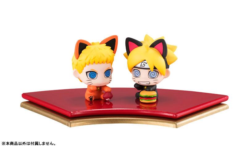 Petit Chara Land Maneki-Neko BORUTO NARUTO NEXT GENERATIONS Oyako Maneki-Neko Dattebasa! Set of 2 Mascot Figures(Pre-order)ぷちきゃらランド 招き猫 BORUTO-ボルト- NARUTO NEXT GENERATIONS 親子招き猫だってばさ! マスコットフィギュア2個セットScale Figure