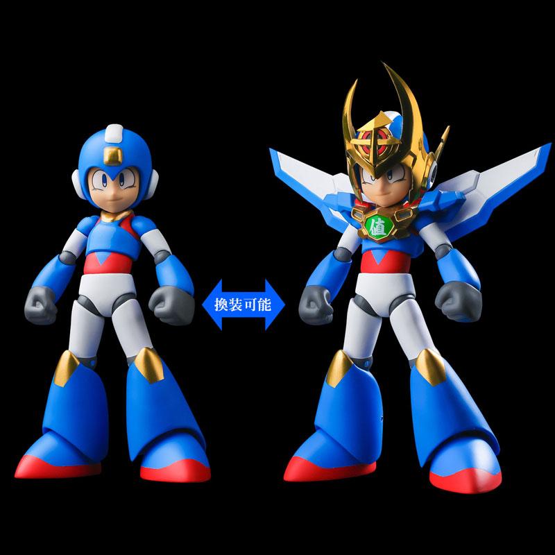 4 Inch Nel Mega Man 30th Anniversary x Sentinel 10th Anniversary Collaboration Mega Man Action Figure(Pre-order)4インチネル ロックマン30周年×千値練10周年 コラボロックマン アクションフィギュアScale Figure