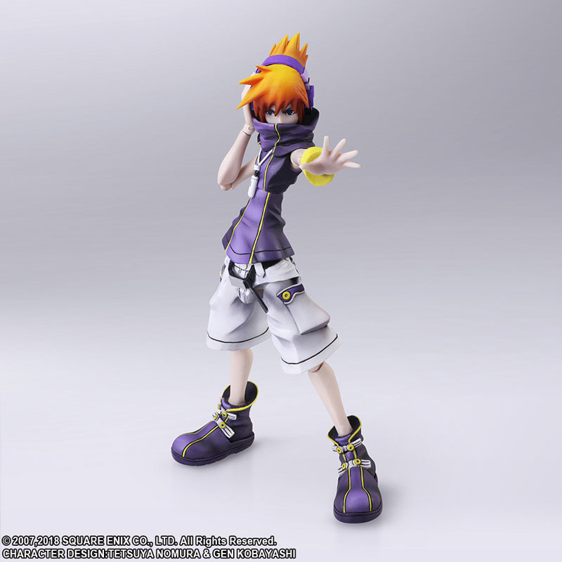 The World Ends with You -Final Remix- Bring Arts Neku Sakuraba Action Figure(Pre-order)Scale Figure