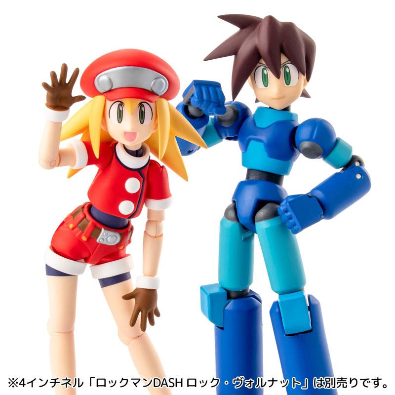 4 Inch Nel Mega Man Legends Roll Caskett Regular Edition(Pre-order)Scale Figure