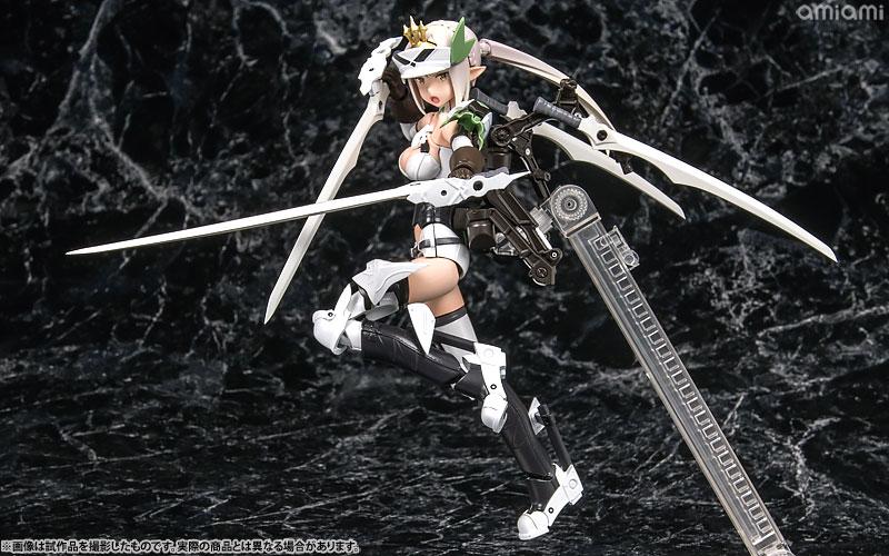 メガミデバイス コラボ 武装神姫 猟兵型エーデルワイス 1/1 プラモデル[コトブキヤ]《01月予約》
