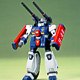 Mobile Suit Gundam F91 1/100 Guntank R-44 Plastic Model