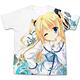 Da Capo III - Rikka Morizono Full Graphic T-shirt/ WHITE - M
