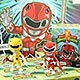 Mighty Morphin Power Rangers / Action Vinyl Series 1: 16 Figure Box