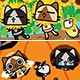 Monster Hunter-  AIROU Clear File Collection 16Pack BOX