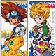Digimon Adventure Series - Chara Pos Collection 8Pack BOX(Back-order)