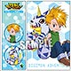 Digimon Adventure - Magnet & Memo Pad Set: Yamato & Gabumon