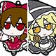 Touhou Project - FumoFumo Trading Rubber Strap 8Pack BOX