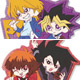 Yu-Gi-Oh Series Pair Clear Rubber Strap 8Pack BOX(Released)