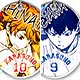 Haikyuu!! - Round Top Keychain 10Pack BOX