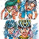 Yowamushi Pedal - Open-Close Style Long Holder: Climber